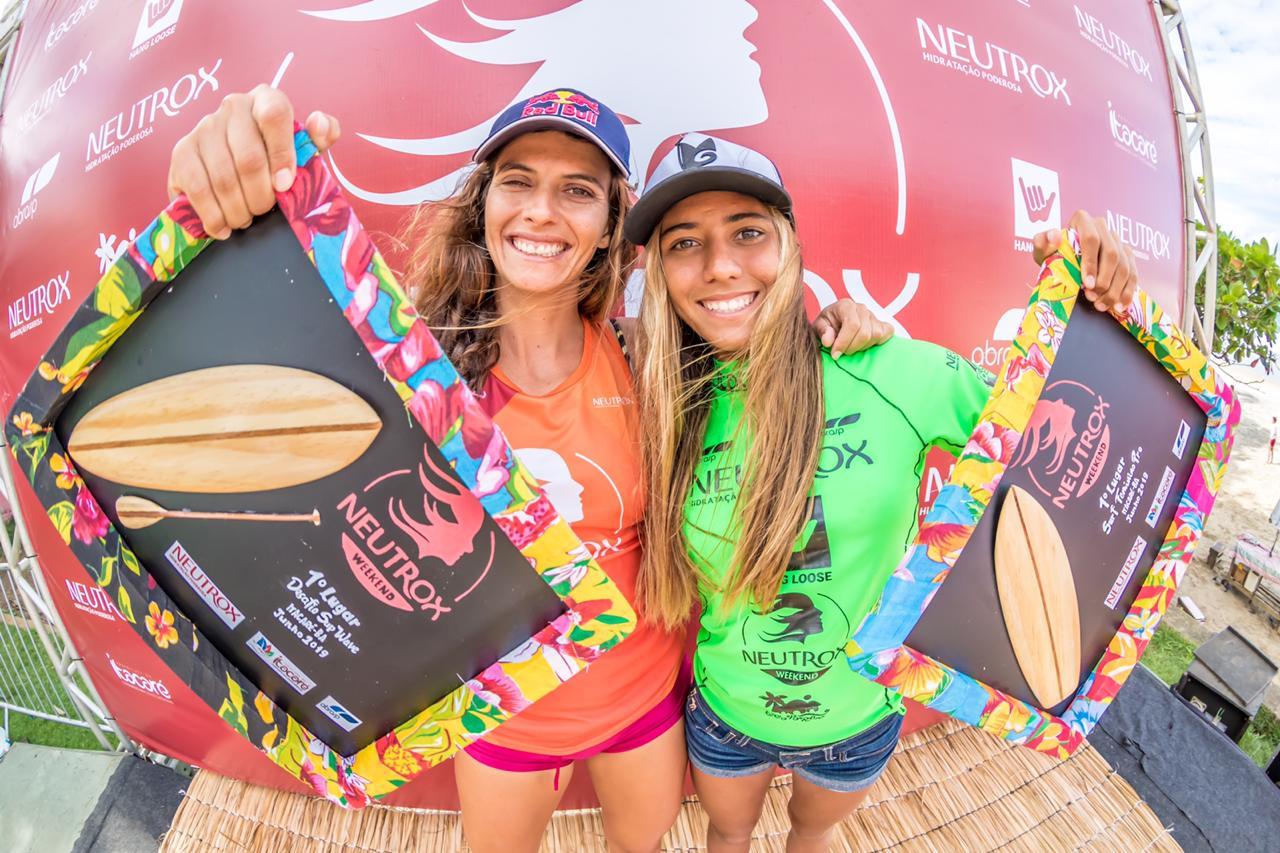 Nicole Pacelli e Júlia Duarte